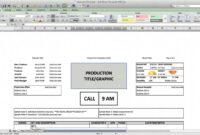 Call Sheet Template – Cast And Crew Call regarding Film Call Sheet Template Word