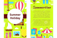 Camp Brochure Template inside Summer Camp Brochure Template Free Download