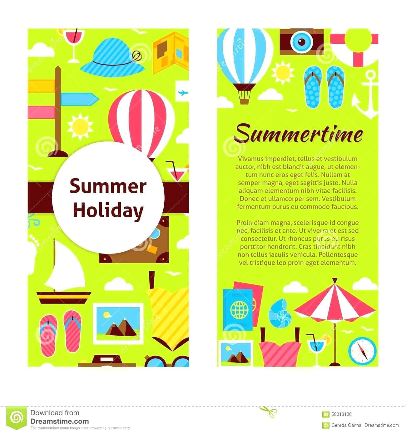 Camp Brochure Template inside Summer Camp Brochure Template Free Download