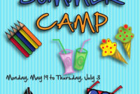 Camp Brochure Template with regard to Summer Camp Brochure Template Free Download