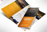 Car Dealer And Services Trifold Brochure Free Psd in 3 Fold Brochure Template Psd Free Download