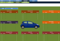 Car Fleet Manager » Exceltemplate in Fleet Management Report Template