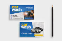 Car Wash Business Card Template V2 – Psd, Ai & Vector throughout Automotive Business Card Templates