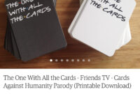 Cards Against Humanity: Friends Edition. : Howyoudoin regarding Cards Against Humanity Template