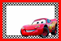 Cars Lightning Mcqueen Printable Template In 2019 | Cars with Cars Birthday Banner Template