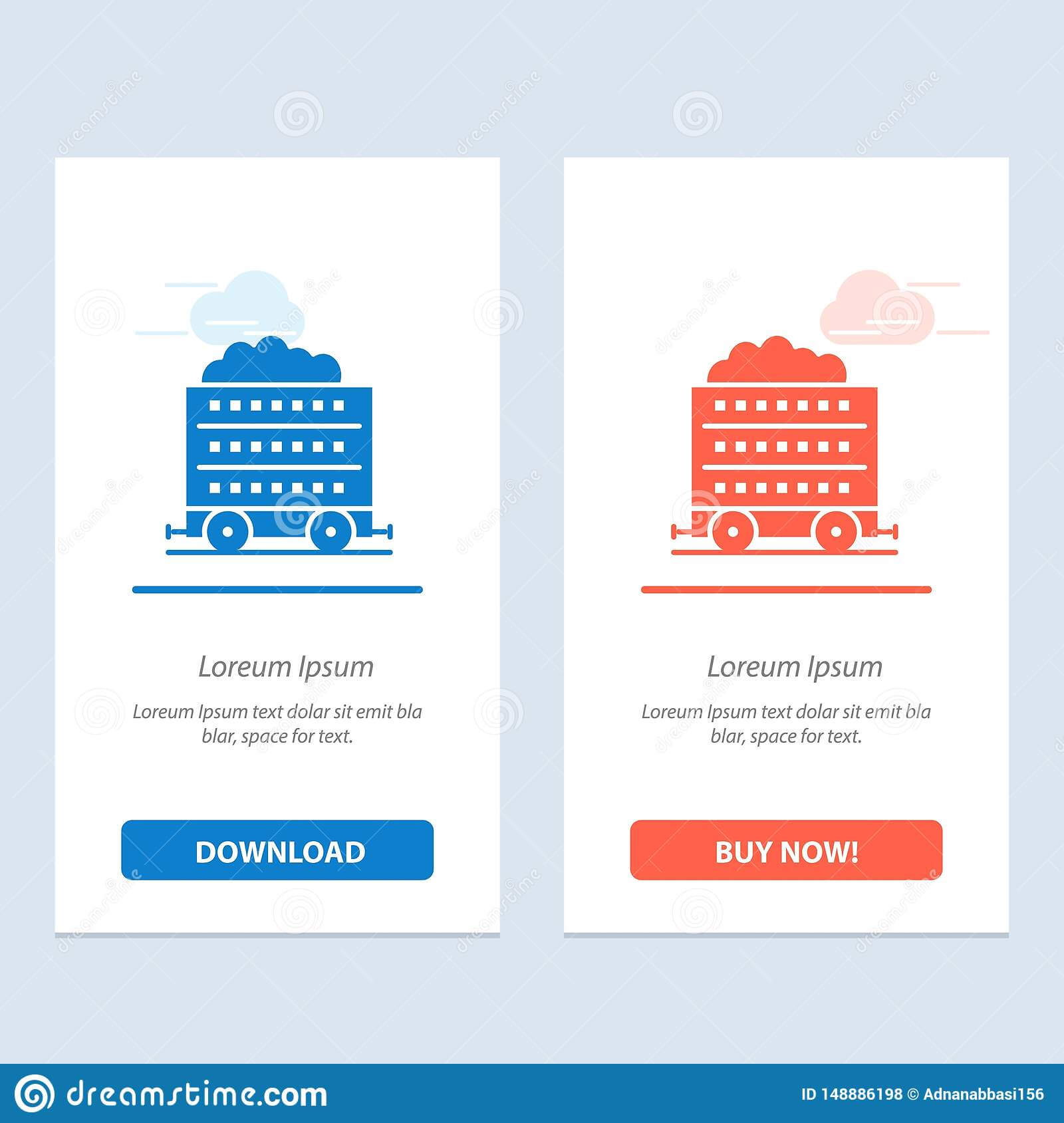 Cart, Barrow, Construction, Wheel Blue And Red Download And pertaining to Push Card Template