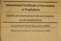 Carte Jaune – Wikipedia throughout Certificate Of Vaccination Template