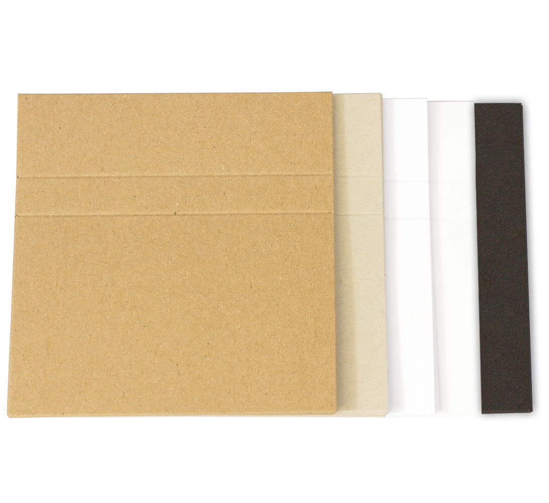 Cassette Case Blank J-Cards - Brown Manila, Natural Recycled regarding Cassette J Card Template
