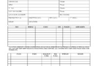 Cast And Crew Call Sheets (Film And Tv) inside Blank Call Sheet Template