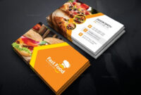 Catering Business Cards Wording Visiting Card Templates in Food Business Cards Templates Free