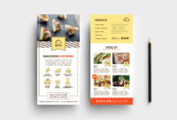 Catering Service Dl Card Template – Psd, Ai & Vector Inside Dl Card Template