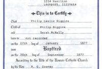 Catholic Baptism Certificate – Yahoo Image Search Results inside Christian Baptism Certificate Template