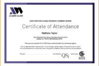 Certificate Attendance Templatec Certification Letter Regarding Boot Camp Certificate Template