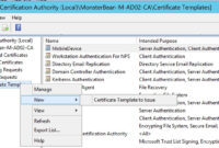 Certificate Auhtority Archives Rebeladmin Workstation intended for Workstation Authentication Certificate Template