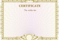 Certificate Background Material Pattern | Certificate regarding Certificate Of Authorization Template