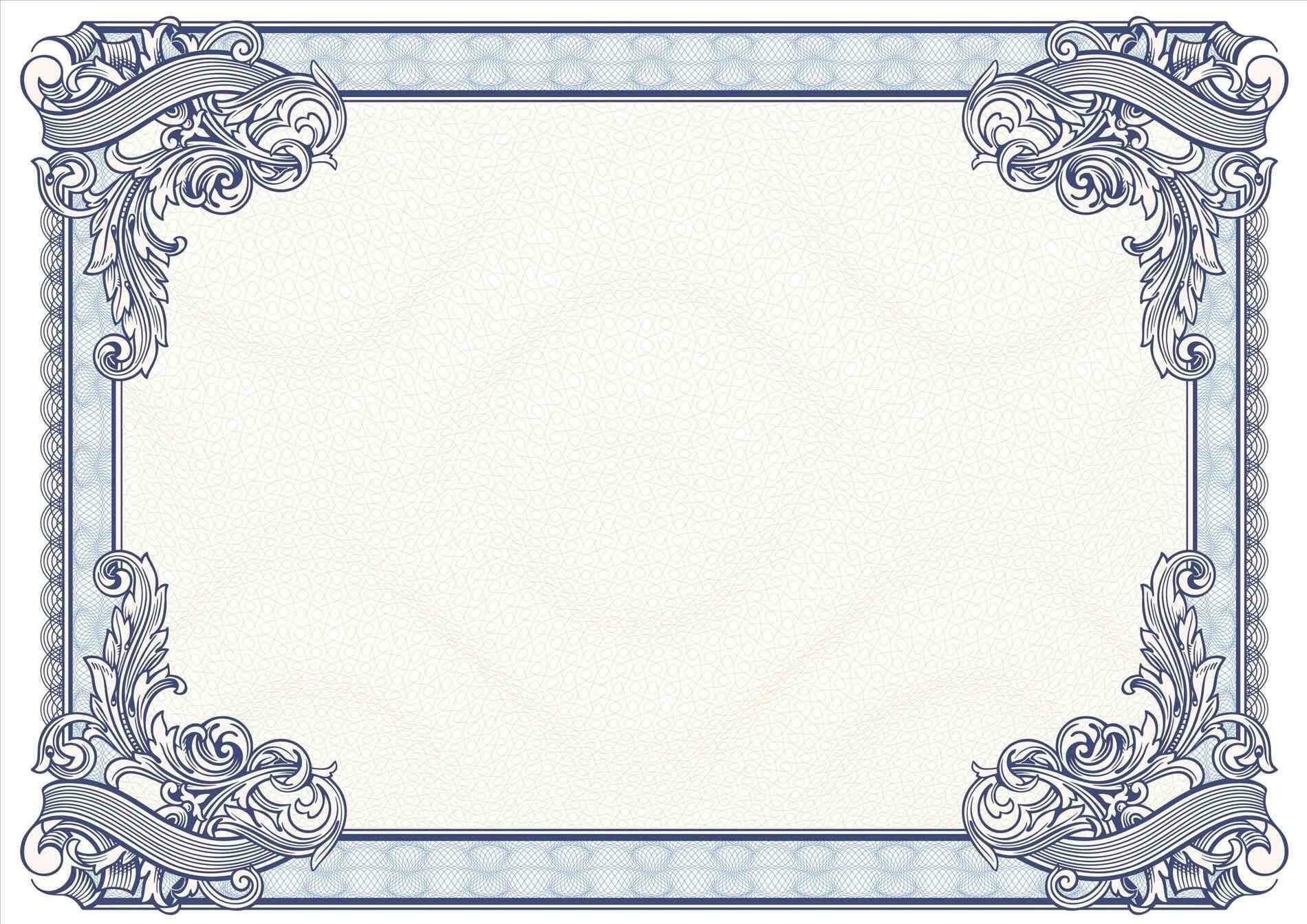 Certificate Borders Design Unique Certificate Border Design Within Certificate Border Design Templates