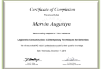 Certificate Examples – Simplecert With Regard To Continuing Education Certificate Template