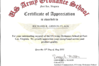 Certificate Of Achievement Template Microsoft Word – Yupar pertaining to Certificate Of Achievement Army Template
