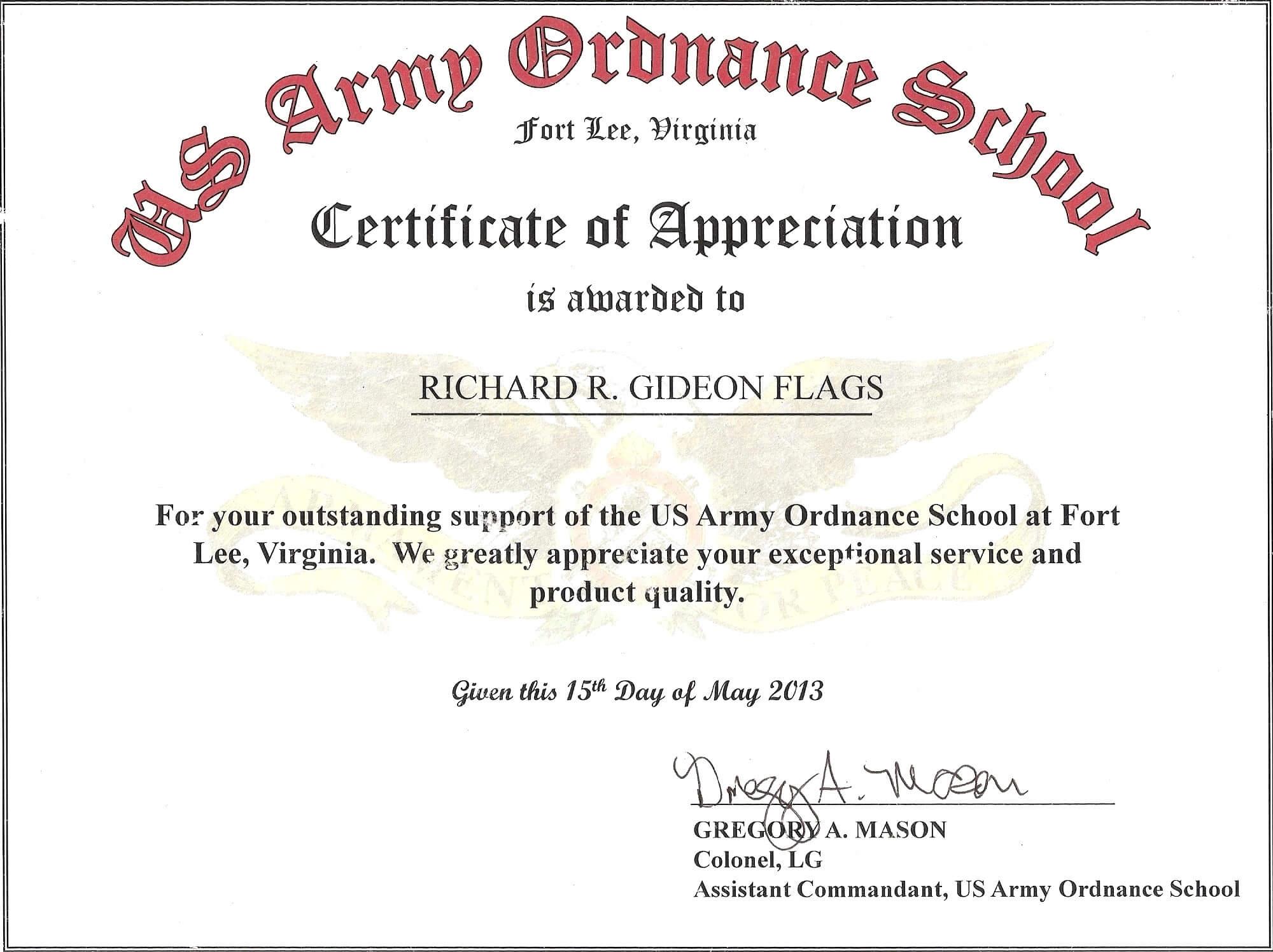 Certificate Of Achievement Template Microsoft Word - Yupar pertaining to Certificate Of Achievement Army Template