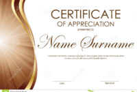 Certificate Of Appreciation Format Free Download Template for Powerpoint Certificate Templates Free Download