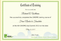 Certificate Of Completion Template Free Download Course inside Class Completion Certificate Template