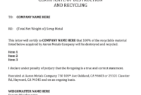 Certificate Of Destruction Template – Fill Online, Printable for Destruction Certificate Template