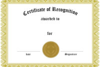 Certificate Printable | Certificates Templates Free pertaining to Word Certificate Of Achievement Template