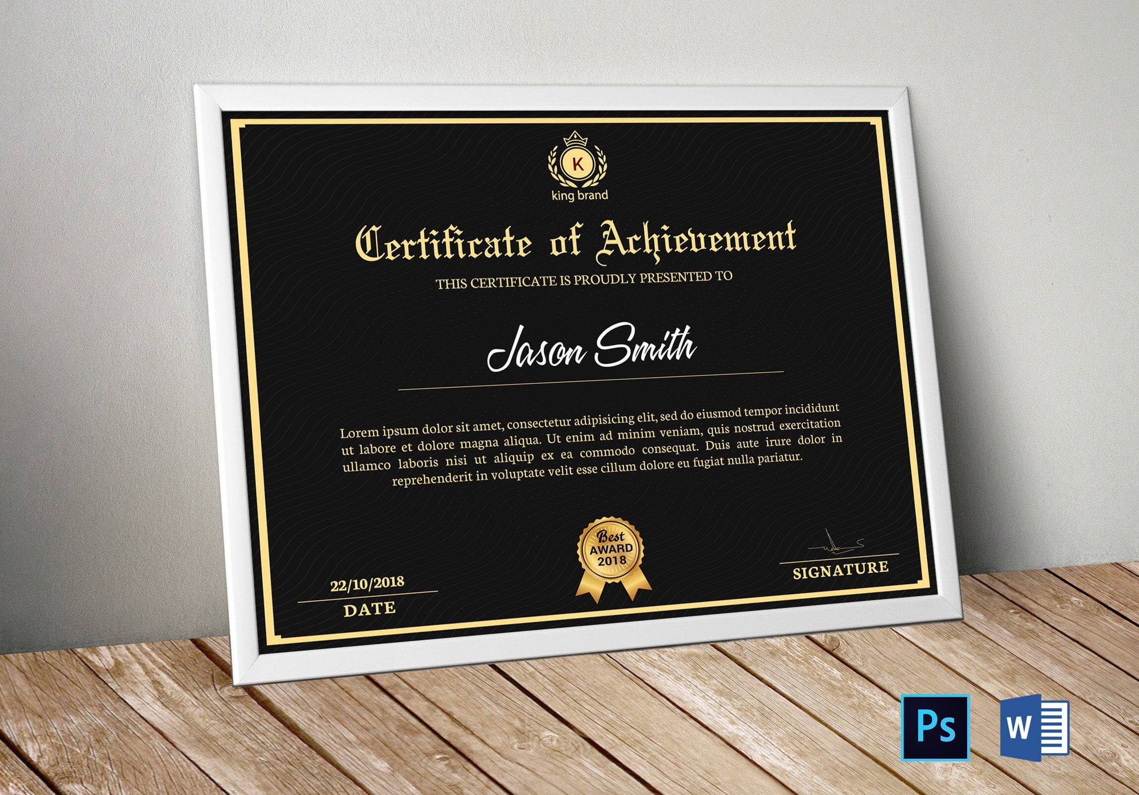 Certificate Template | Certificate Of Appreciation In Within Commemorative Certificate Template
