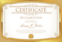 Certificate Template – Download Free Vectors, Clipart regarding Commemorative Certificate Template
