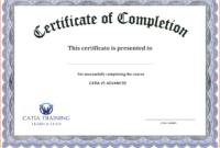 Certificate Template Free Printable – Free Download regarding Blank Certificate Templates Free Download