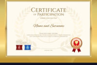 Certificate Template In Basketball Sport Theme Vector Image intended for Basketball Camp Certificate Template