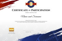 Certificate Template In Rugby Sport Theme With Vector Image with regard to Rugby League Certificate Templates