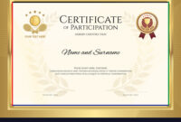 Certificate Template In Tennis Sport Theme With Throughout Tennis Certificate Template Free