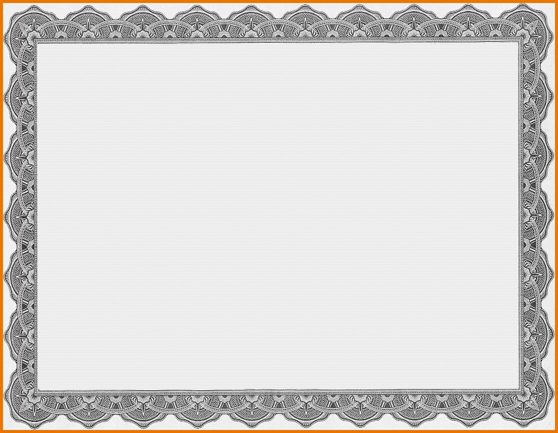 Certificate Template Png Transparent Templatepng Images Free Regarding Award Certificate Border Template