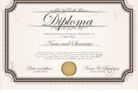 Certificate Template throughout Commemorative Certificate Template