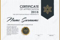 Certificate Template With Luxury And Modern Pattern,, Qualification.. pertaining to Qualification Certificate Template