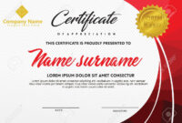 Certificate Template With Polygonal Style And Modern Pattern.. with regard to Workshop Certificate Template