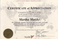 Certificate Template Years Of Service | Free Cover Letter for Certificate For Years Of Service Template