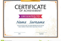 Certificate Template,diploma Layout,a4 Size Stock Vector throughout Referral Certificate Template
