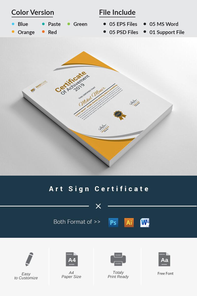 Certificate Templates | Award Certificates | Templatemonster intended for No Certificate Templates Could Be Found