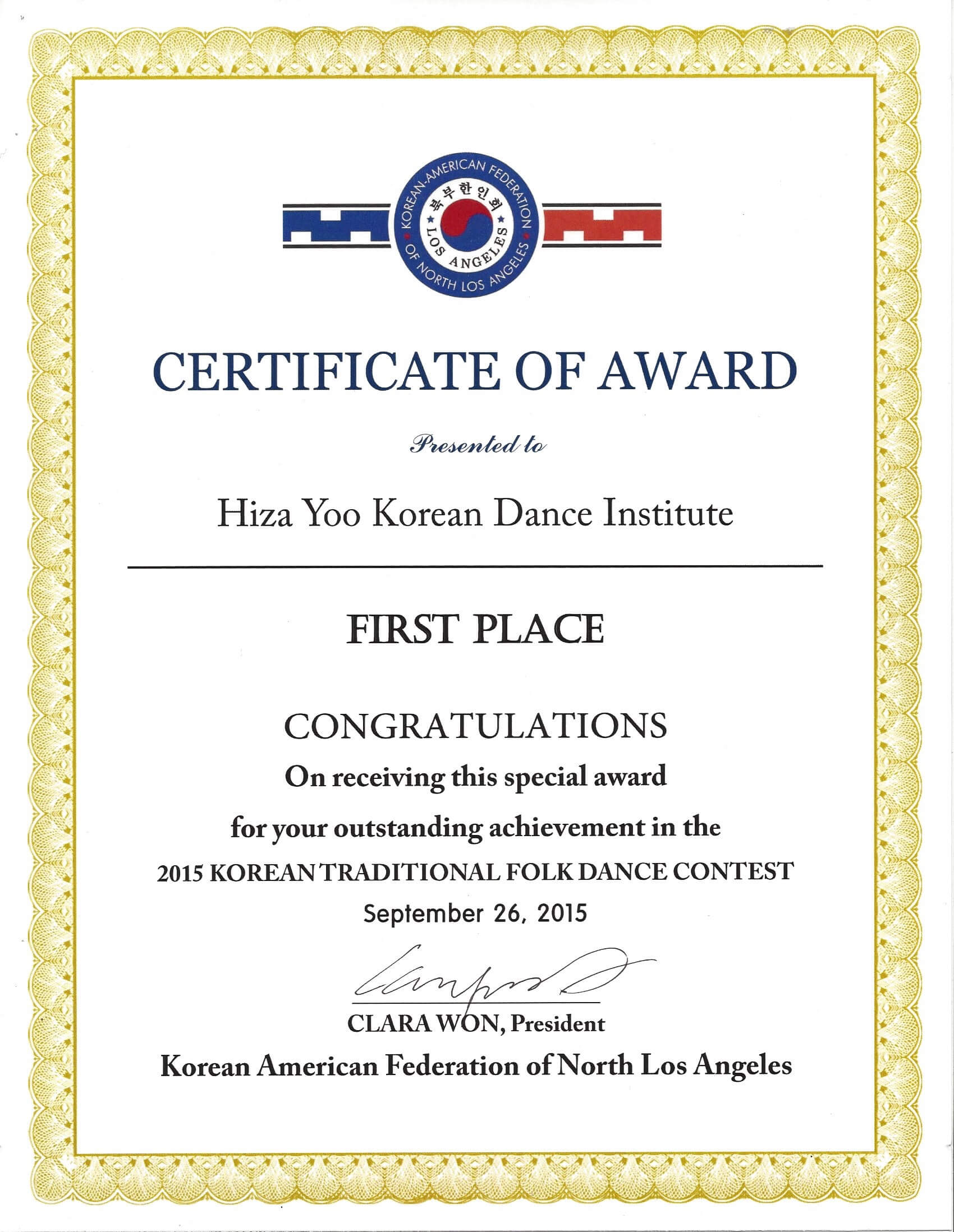 Certificate Templates: First Place Certificate Sample with First Place Certificate Template
