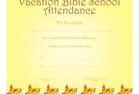 Certificate Templates: Free Vacation Bible School for Free Vbs Certificate Templates