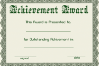 Certificate Templates | Green Award Certificate Powerpoint in Powerpoint Certificate Templates Free Download