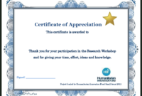Certificate Templates: Participation Certificate Template Free Throughout Certificate Of Participation Template Doc