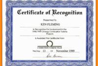 Certificate Wording | Certificates Templates Free inside Softball Certificate Templates