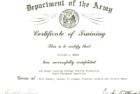 Certificate Words – Yupar.magdalene-Project with Army Certificate Of Completion Template