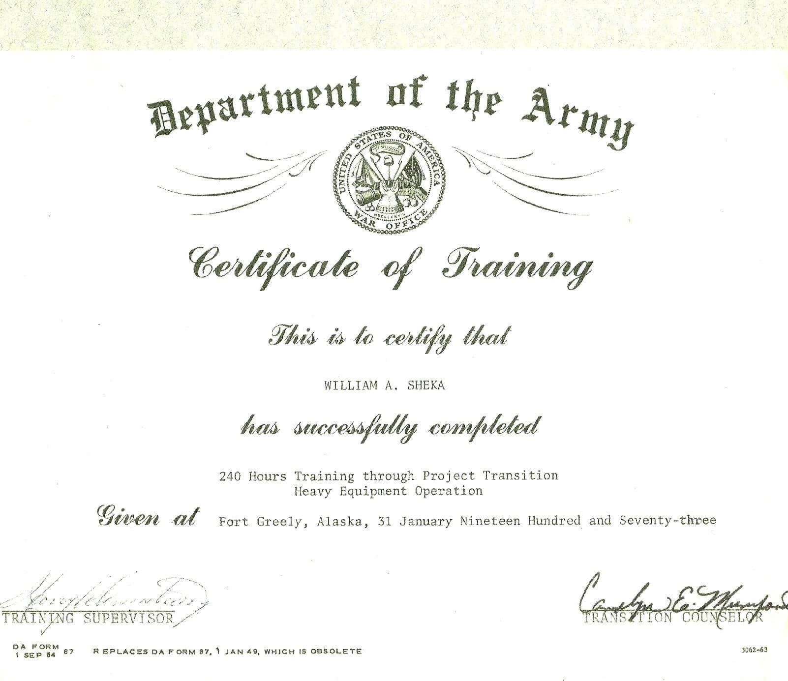 Certificate Words – Yupar.magdalene Project With Army Certificate Of Completion Template