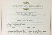 Certificates. Latest Ordination Certificate Template Example inside Ordination Certificate Templates
