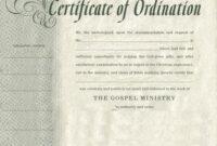 Certificates. Latest Ordination Certificate Template Example within Ordination Certificate Templates