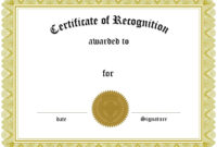Certificates. Simple Award Certificate Templates Designs With Template For Certificate Of Award